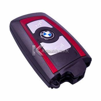 قاب ریموت BMW سه دکمه قرمز