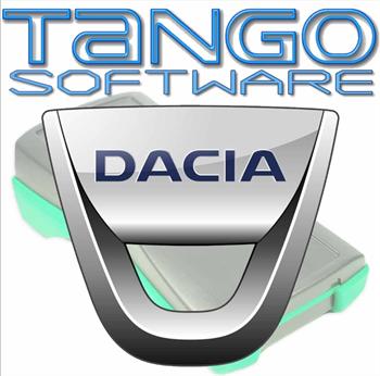 نرم افزار تعریف کلید تانگو داچیا
